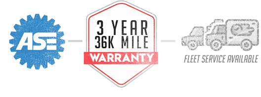 Ase logo, Warranty logo, Fleet Service | The Plymouth Garage